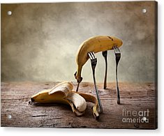 Encounter Acrylic Print by Nailia Schwarz