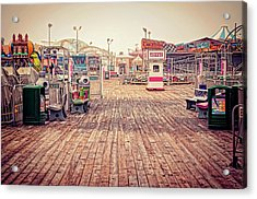 End Of Summer Acrylic Print by Heather Applegate