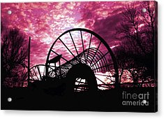 End Of The Day Acrylic Print by Terril Heilman