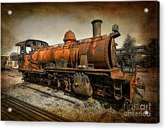 End Of The Line Acrylic Print by Adrian Evans