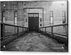 End Of The Line Acrylic Print by Edward Fielding