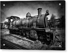 End Of The Line V2 Acrylic Print by Adrian Evans