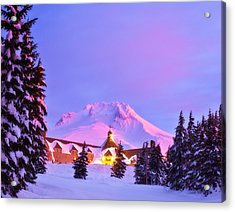 End Of The Year Acrylic Print by Darren  White