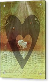 Endless Love Acrylic Print by Holly Kempe