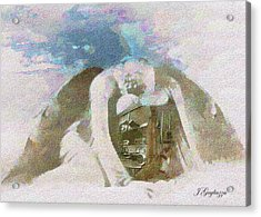 Engine Company 10 Acrylic Print by Jean Gugliuzza