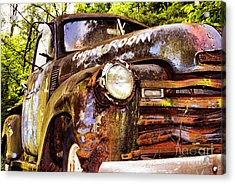 Engine Room Acrylic Print by Tom Griffithe