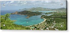 English Harbour Antigua Acrylic Print by John Edwards