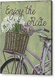 Enjoy The Ride Acrylic Print by Debbie DeWitt