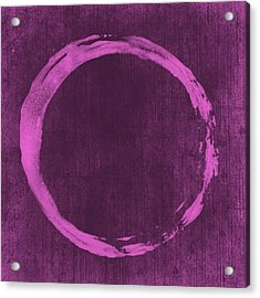 Enso 4 Acrylic Print by Julie Niemela