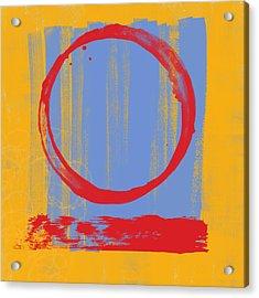 Enso Acrylic Print by Julie Niemela