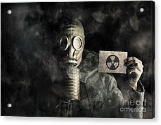 Environmental Pollution Concept Acrylic Print by Jorgo Photography - Wall Art Gallery
