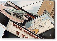 Ernest Tubb Acrylic Print by Van Cordle
