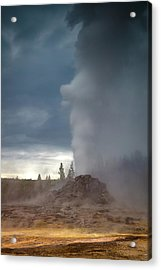 Eruption Acrylic Print by Edgars Erglis