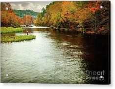 Escape To Beaver's Bend Acrylic Print by Tamyra Ayles