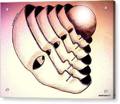 Essence Acrylic Print by Paulo Zerbato
