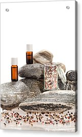 Essential Oil From Pepper Acrylic Print by Wolfgang Steiner