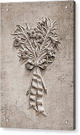 Eternal Lilies Acrylic Print by Tom Mc Nemar