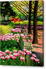 Eternal Spring Acrylic Print by John Lautermilch