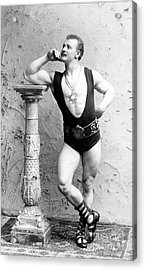 Eugen Sandow, Father Of Modern Acrylic Print by Science Source