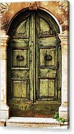 European Door II Acrylic Print by Jason Evans