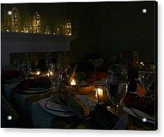 Evening Celebration Acrylic Print by Lori Seaman
