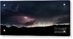 Evening Storm 2 Acrylic Print by Terril Heilman