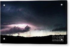Evening Storm Acrylic Print by Terril Heilman
