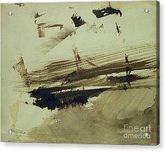 Evocation Of An Island Acrylic Print by Victor Hugo