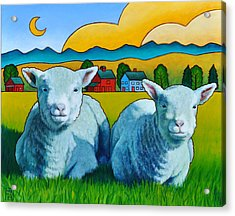 Ewe Two Acrylic Print by Stacey Neumiller