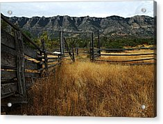Ewing-snell Ranch 1 Acrylic Print by Larry Ricker