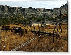 Ewing-snell Ranch 4 Acrylic Print by Larry Ricker