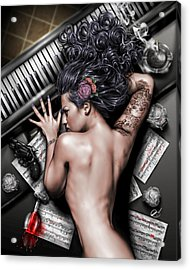 Ex Dono Dei Acrylic Print by Pete Tapang