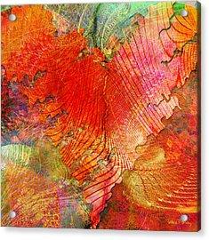 Exhilaration Acrylic Print by Barbara Berney