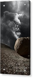 Exit Acrylic Print by Russ Brown