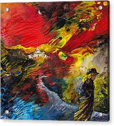 Expelled From The Land Acrylic Print by Miki De Goodaboom
