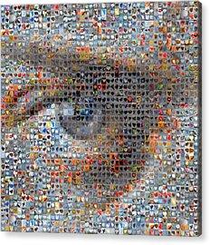Eye 2 Acrylic Print by Boy Sees Hearts