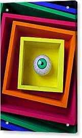 Eye In The Box Acrylic Print by Garry Gay