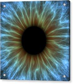 Eye, Iris Acrylic Print by Pasieka