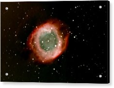 Eye Of God Helix Nebula Acrylic Print by Jim DeLillo