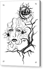 Eye Of The Beholder Acrylic Print by Shawna Rowe
