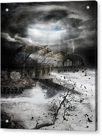 Eye Of The Storm Acrylic Print by Mary Hood