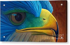 Eye On The Prize Acrylic Print by Brian  Commerford