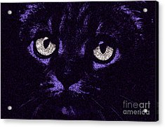 Eyes Straight To The Heart Acrylic Print by Andee Design