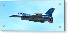 F16 Acrylic Print by Greg Fortier