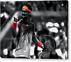 Fabio Fognini Acrylic Print by Brian Reaves