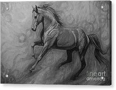 Fade To Grey Acrylic Print by Silvana Gabudean