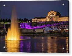 Fair St Louis At Forest Park Acrylic Print by Garry McMichael