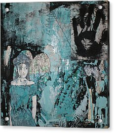 Fairy 1 Acrylic Print by Joanne Claxton