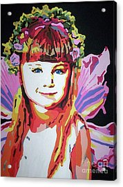Fairy Lexi Acrylic Print by Jennifer Heath Henry
