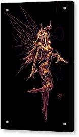 Fairy Star Child Acrylic Print by David Bollt